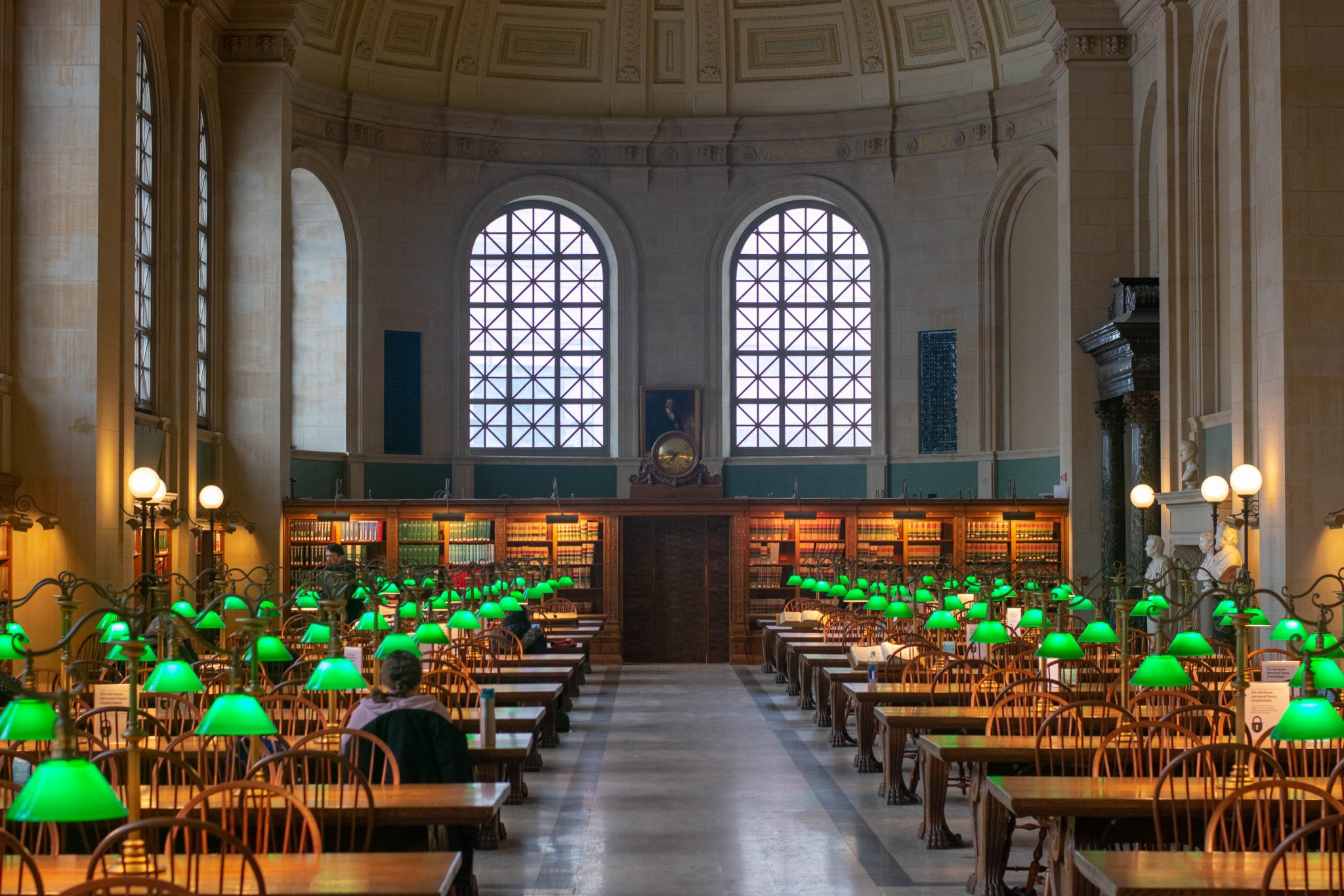 Picture of Boston Library