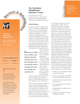 Psychiatric Rehabilitation Educators' Group newsletter